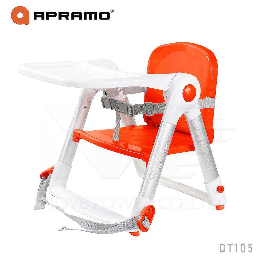 英國《Apramo Flippa》可攜式兩用兒童餐椅(紅色)