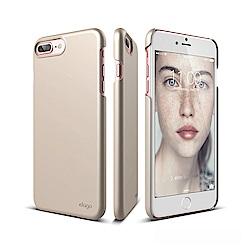 elago iPhone 8/7 Plus 經典超薄手機保護殼-金色