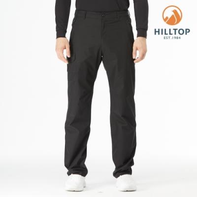 【hilltop山頂鳥】男款GORE-TEX防水透氣保暖長褲H31MM2黑美人