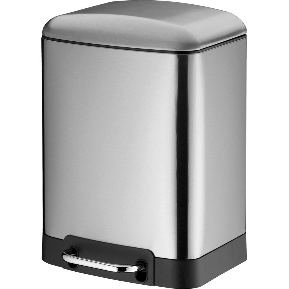 《KELA》Davino腳踏式垃圾桶(霧銀6L)
