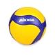 MIKASA 超纖皮製練習型排球 #5 黃藍 product thumbnail 1