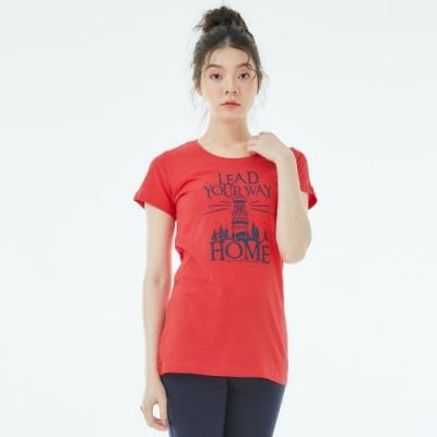 101原創 長版短袖T恤-引領-女