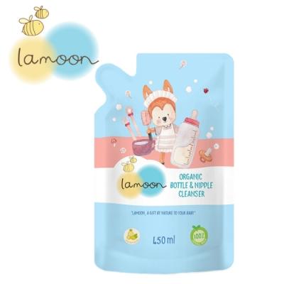 【泰國 lamoonbaby】有機奶蔬清潔液補充包/450ml