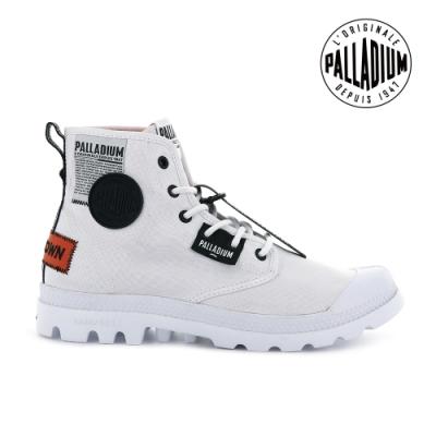 PALLADIUM PAMPA LITE OVERLAB輕量標籤軍靴-中性-白