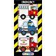 Playtown Emergency 緊急交通工具掌上型硬頁小書(英國版) product thumbnail 1