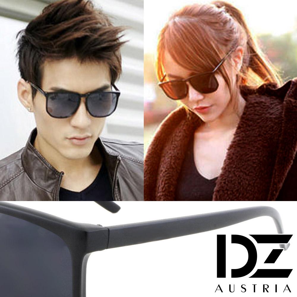 【2件59折】DZ 經典韓款 抗UV造型太陽眼鏡墨鏡(霧黑系)