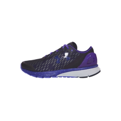UNDER ARMOUR女慢跑鞋 黑/紫藍