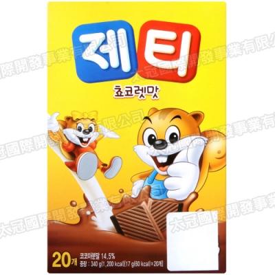 DONG SUH JT牛奶沖泡粉-巧克力風味(340g)