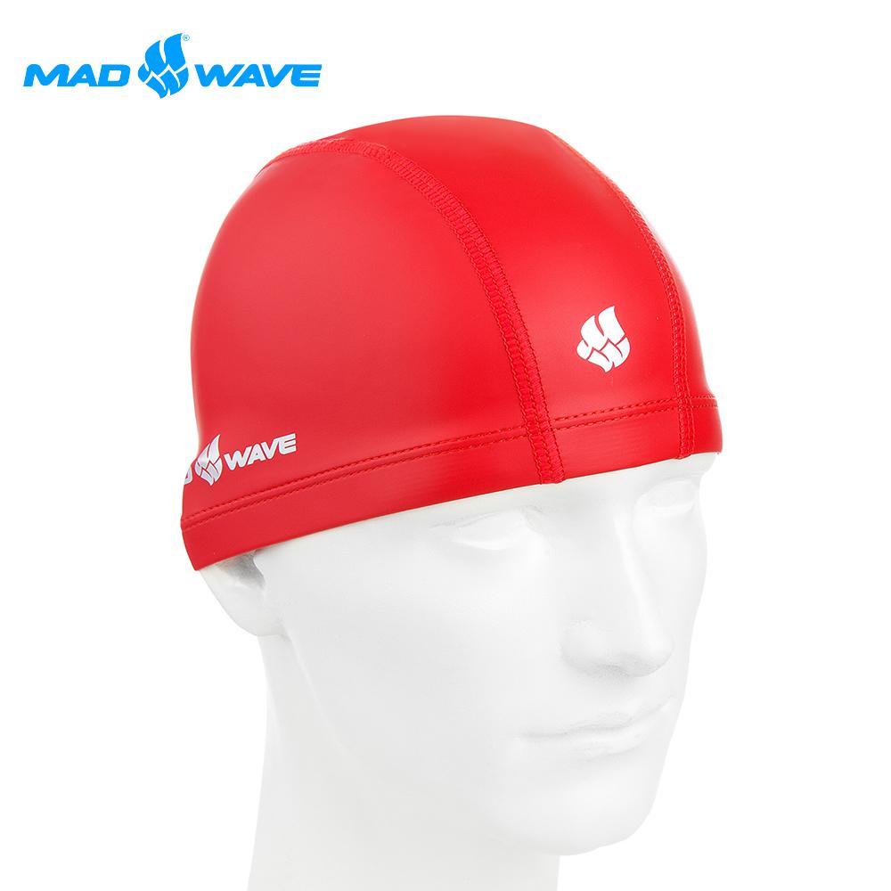 俄羅斯 邁俄威 彈性泳帽 MADWAVE PUT COATED