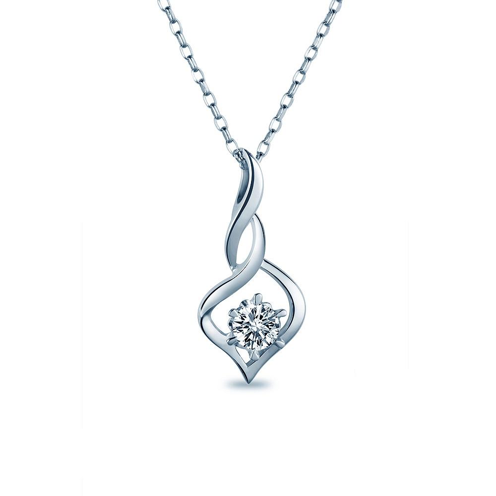 Alesai 艾尼希亞鑽石 30分 14K 鑽石項鍊 (3選1) (APF34)