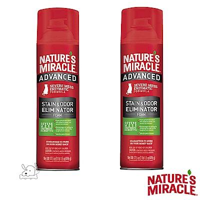 8 in 1  自然奇蹟 貓用 活氧酵素去漬除臭泡沫噴劑  17 . 5 oz X  2 罐