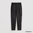 Hang Ten - 童裝 -ThermoContro-素面腰部鬆緊運動機能長褲-黑