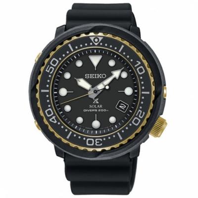 SEIKO 精工PROSPEX 廣告款太陽能200米潛水腕錶SNE498P1