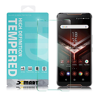 Xmart For ASUS ROG Phone ZS600KL薄型 9H 玻璃保護貼
