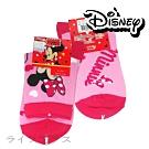 米妮/冰雪奇緣/粉紅小豬1/2童襪-大-19~21cm-12雙入