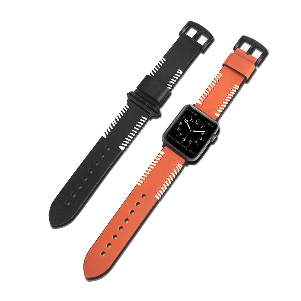 DUX DUCIS Apple Watch (38/40mm) 時尚款真皮錶帶