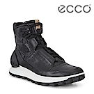 ECCO EXOSTRIKE 突破極限高筒運動戶外靴 DYNEEMA限定款 男-黑