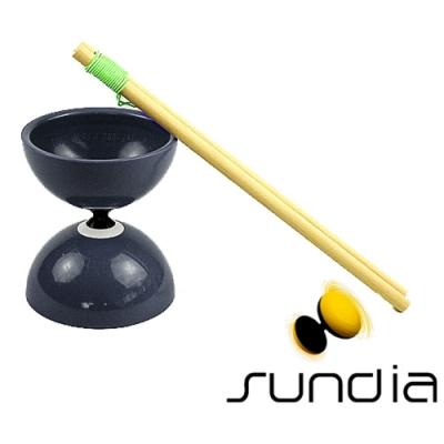三鈴SUNDIA-台灣製造FLY長軸培鈴扯鈴(附木棍、扯鈴專用繩)黑色
