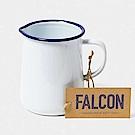 Falcon 獵鷹琺瑯水杯-藍白