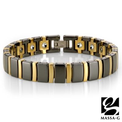 DECO X MASSA-G【暗黑風華】陶瓷手環