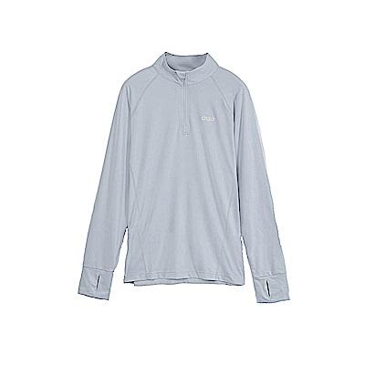 Gfun女款防曬防蚊長袖衫-銀灰G7URSL5-gray