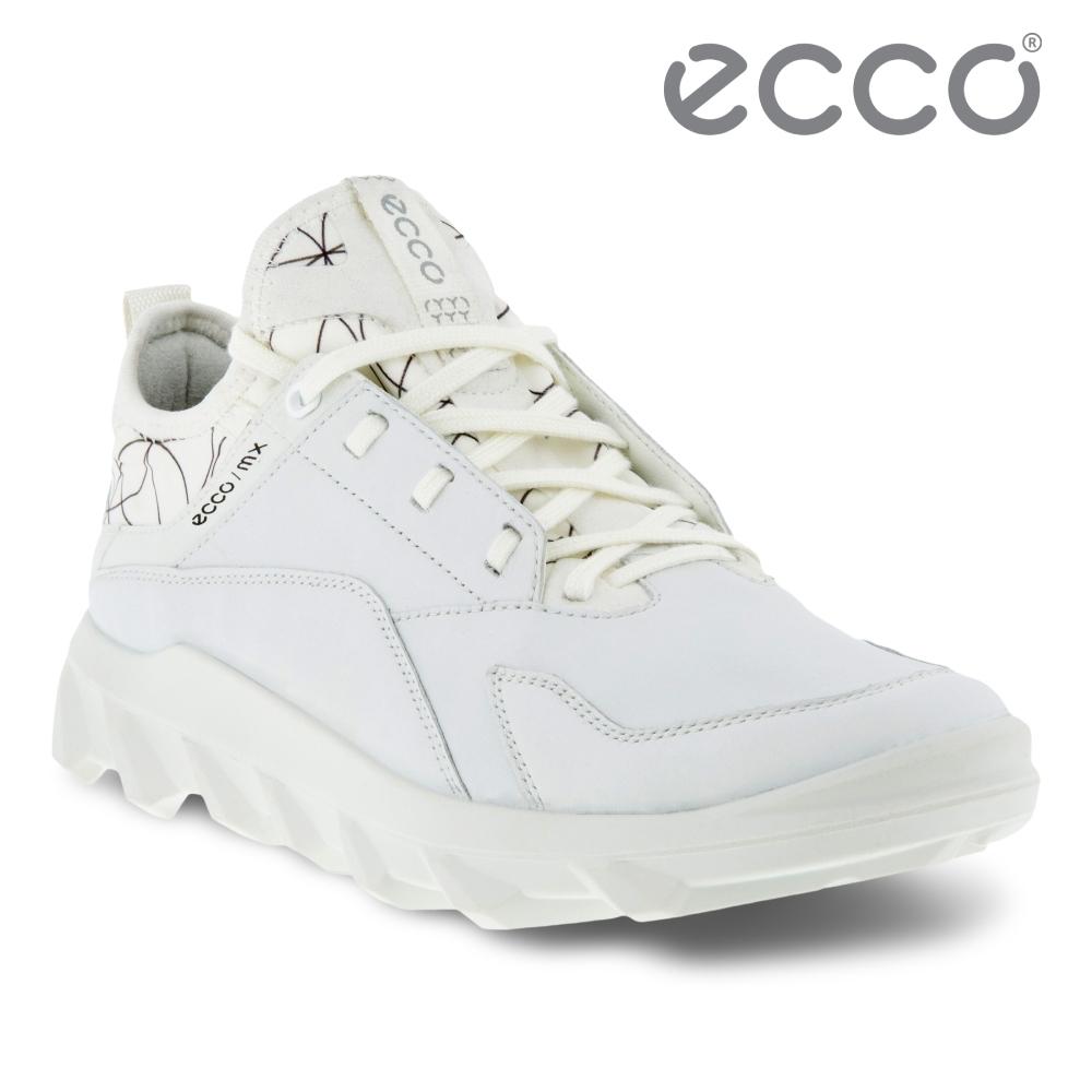 ECCO MX M 驅動戶外運動休閒鞋 男鞋 白色