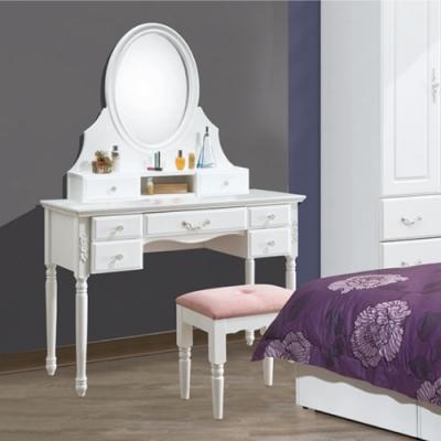 AS-茉莉3.5尺鏡台含椅-106x40x154cm