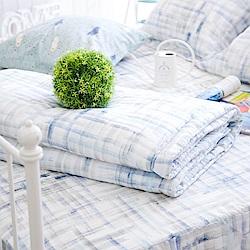 OLIVIA  skittles 藍 5x6尺夏日涼被  100%天絲™萊賽爾