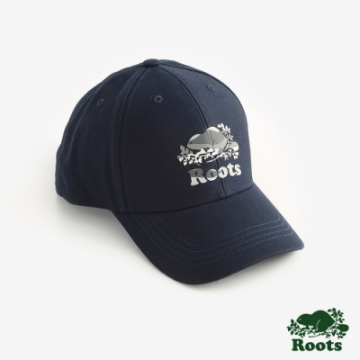 ROOTS配件 風景海狸棒球帽-藍