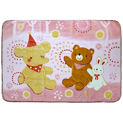 西川毛毯-快樂煙火童毯(2色可選)
