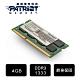 (6/20前再送3%超贈點)Patriot美商博帝DDR3 1333 4GB 筆記型記憶體 (PSD34G13332S) product thumbnail 1