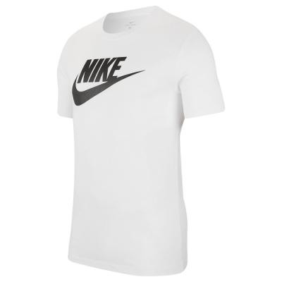 NIKE  短袖上衣 基本款 LOGO 運動 休閒 白 男款 AR5005101 AS M NSW TEE ICON FUTURA