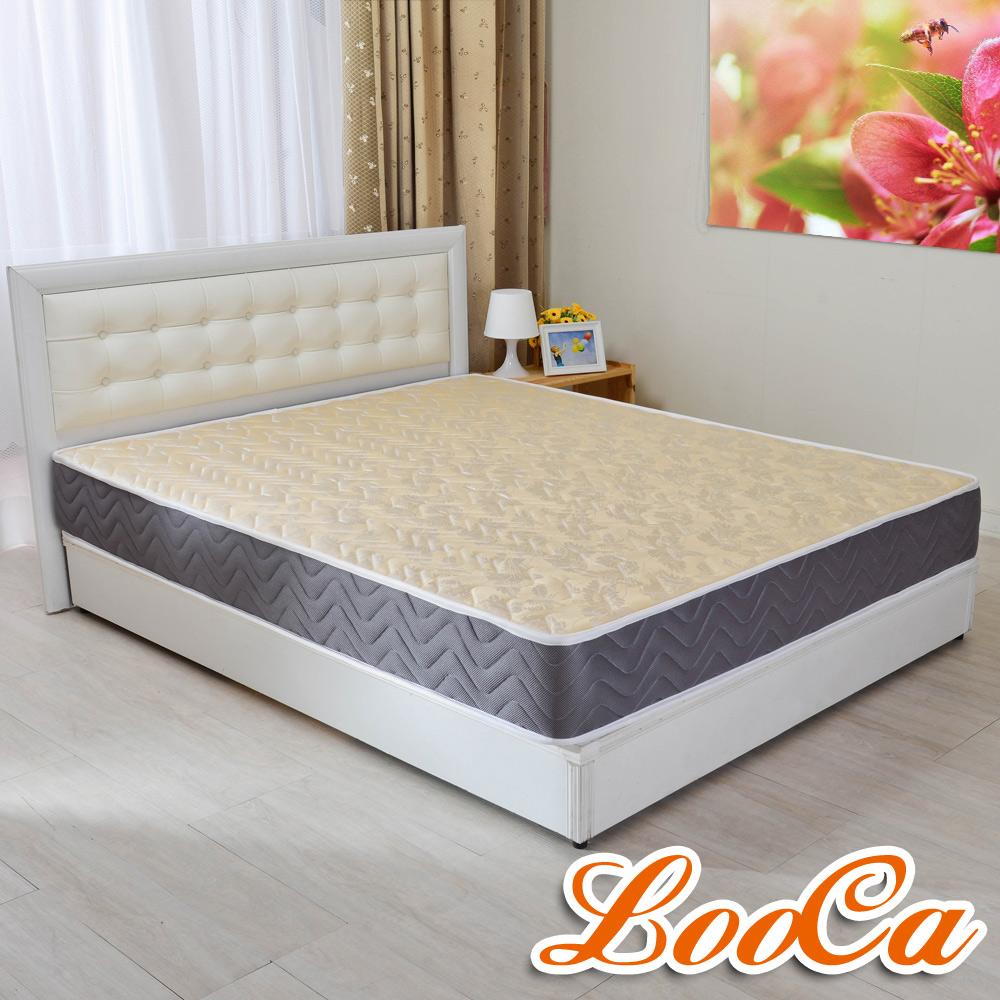 (618限定)LooCa 蜂巢透氣圍邊獨立筒床墊-雙人5尺