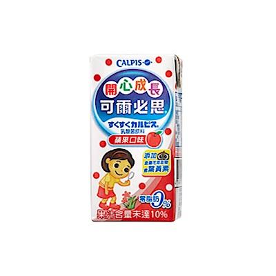 可爾必思 開心成長蘋果乳酸菌飲料(160ml*6入)