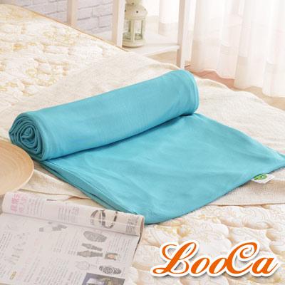 LooCa 法國防蹣防蚊透氣3-6cm床墊布套-單大3.5尺