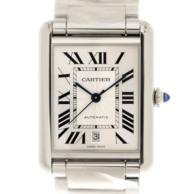 CARTIER 卡地亞 TANK MUST(WSTA0053)新經典鏈帶超大型腕錶x41mmx31mm