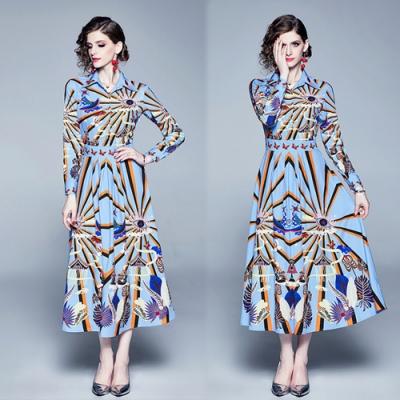 【KEITH-WILL】紳士女伶宮廷修身洋裝-1色