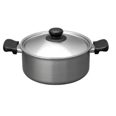 柳宗理 不鏽鋼 霧面 淺型雙耳鍋(附蓋)-日本大師級商品