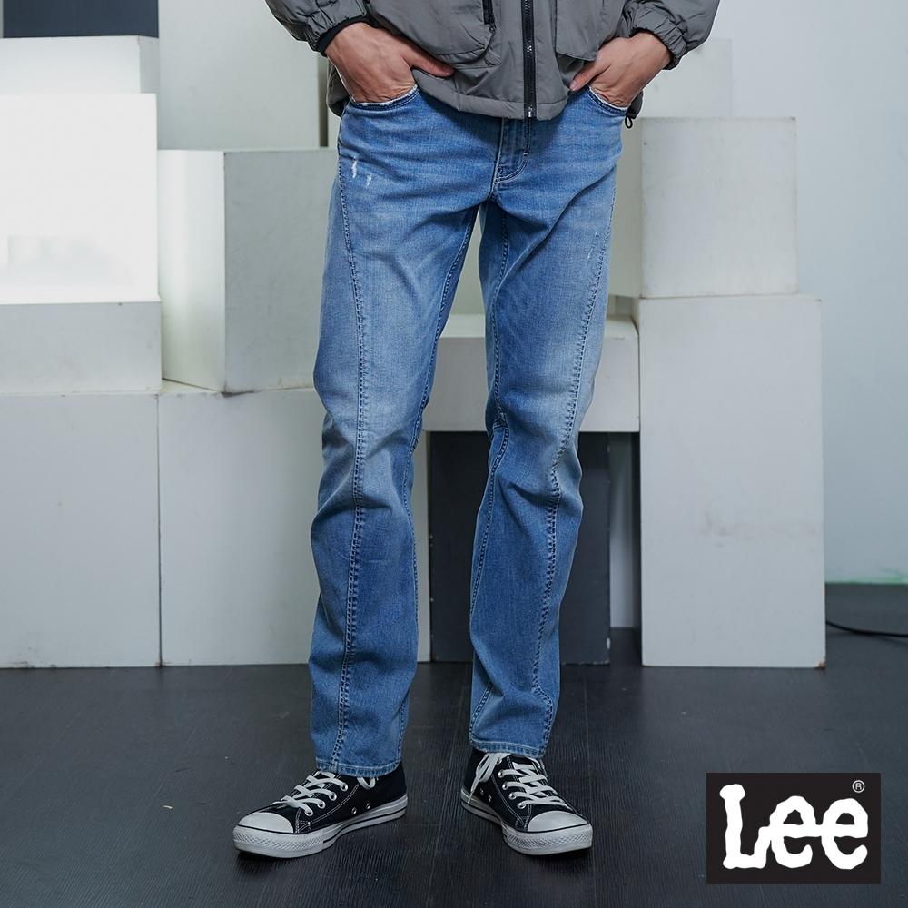 Lee 755 中腰標準3D牛仔褲 UR 男款 淺藍