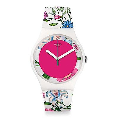Swatch  原創系列 FIORINELLA手錶-41mm