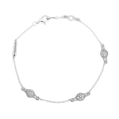 Pandora 潘朵拉 愛的豆莢 925純銀手鍊手環