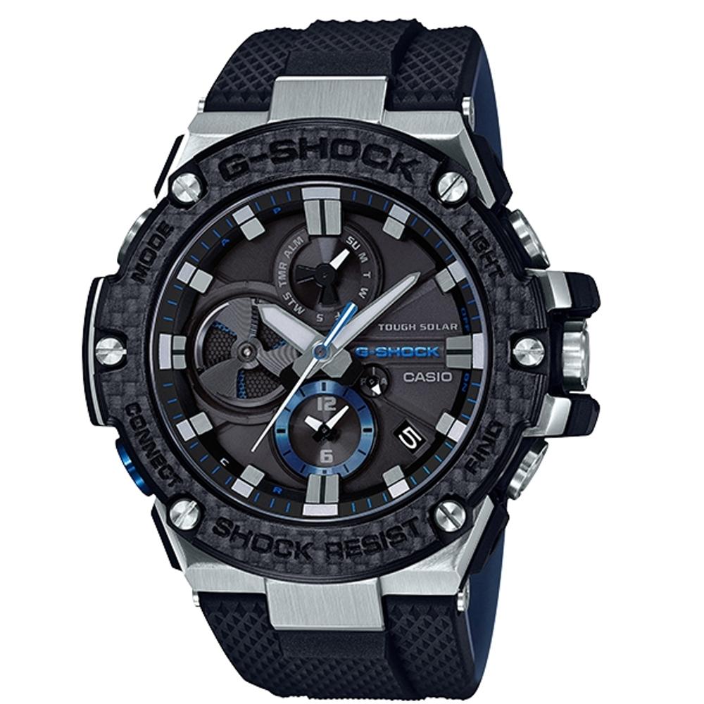 CASIO G-SHOCK 競速太陽能運動腕錶/GST-B100XA-1A