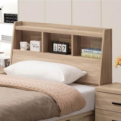 文創集 魯穆德   現代3.5尺單人收納床頭箱(不含床底+不含床墊)-106x23x102.5cm免組