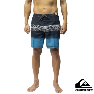 【QUIKSILVER】SURFSILK PANEL 18 衝浪褲 黑色
