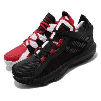 adidas 籃球鞋 Dame 6 GCA 男鞋 愛迪達 里拉德 鴛鴦 陰陽 避震 穿搭 白 紅 FY0850