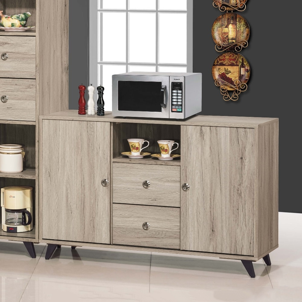 MUNA 奈爾4尺餐櫃(共兩色) 121X40X79cm