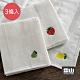 日本霜山 棉紗水果刺繡風加厚吸水去汙抹布(30x30cm)-3條入 product thumbnail 1
