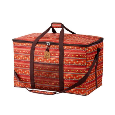 KAZMI 經典民族風裝備收納袋120L 紅