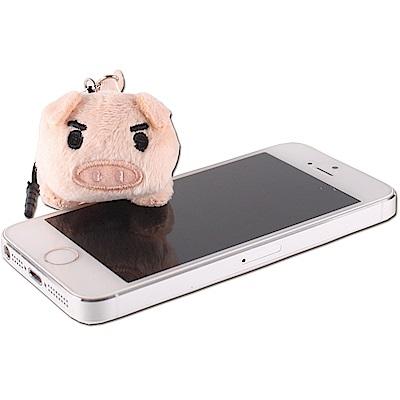 可愛豬造型手機擦拭布UNIQUE