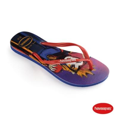 Havaianas 哈瓦仕 拖鞋 夾腳拖 人字拖  迪士尼 白雪公主 巴西 女鞋 茄紫色 4145187-2967W Slim Villains